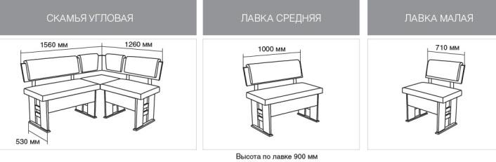 Угловая скамейка чертеж