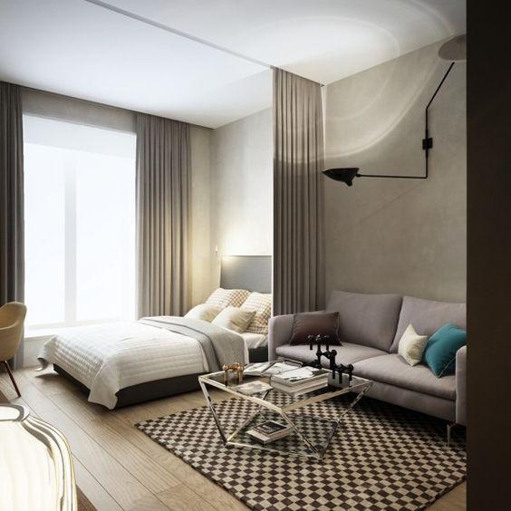 Как обставить однокомнатную квартиру идеи 140