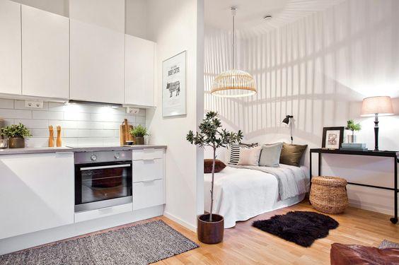 как отделить зону кухни от гостиной фото