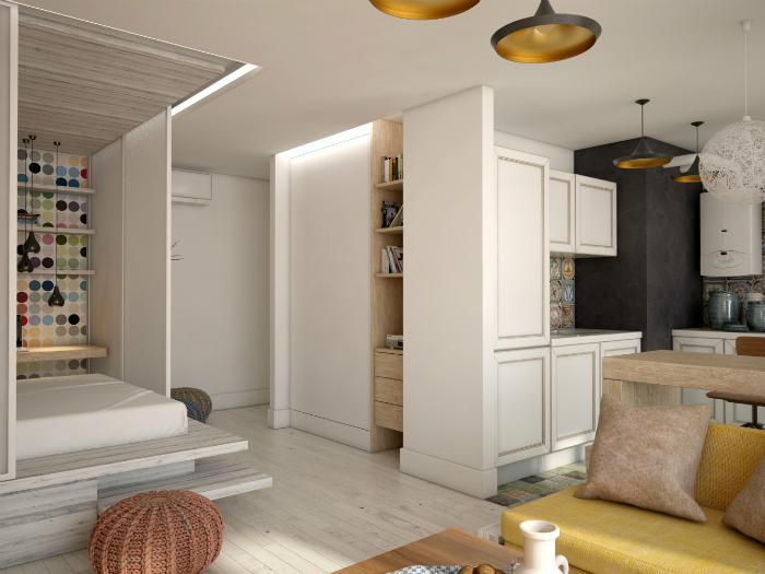 Фото дизайна квартиры 48 м кв