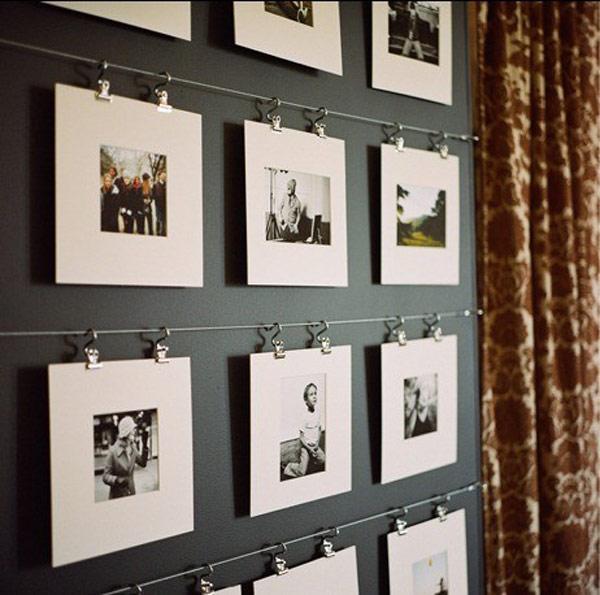 Фоторамки своими руками фото на стену