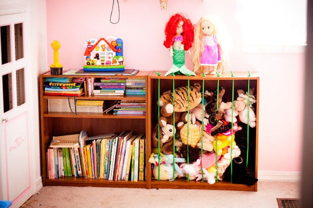 Система хранения вещей для детской своими руками 35