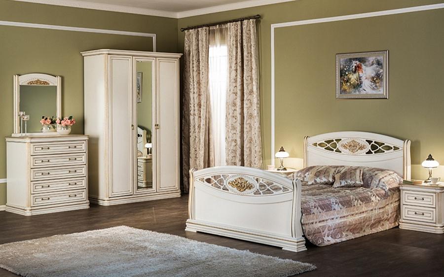 купить спальня василиса композиция 3 от производителя сомово