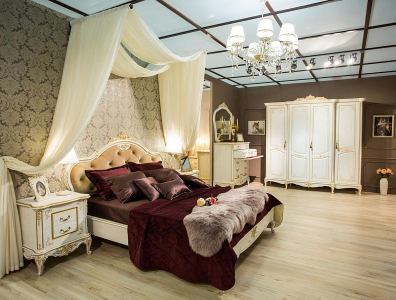 купить спальный гарнитур барокко от производителя мебель