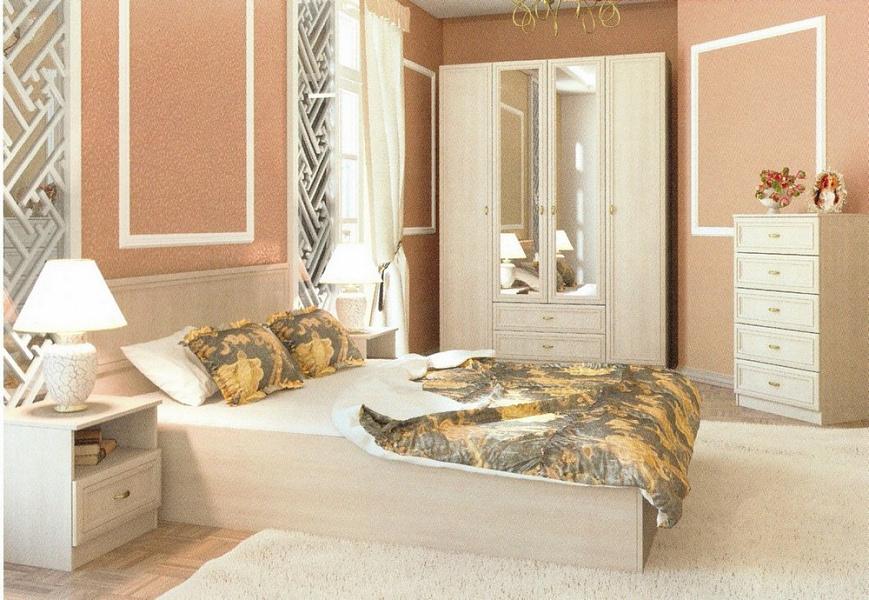 купить спальня вега шкаф четыре створки от производителя Sv мебель