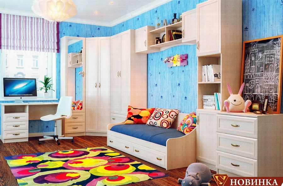 купить детская комната вега 2 от производителя Sv мебельпенза в