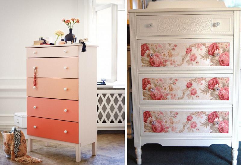 Как обновить мебельную стенку своими руками? Фото, видео