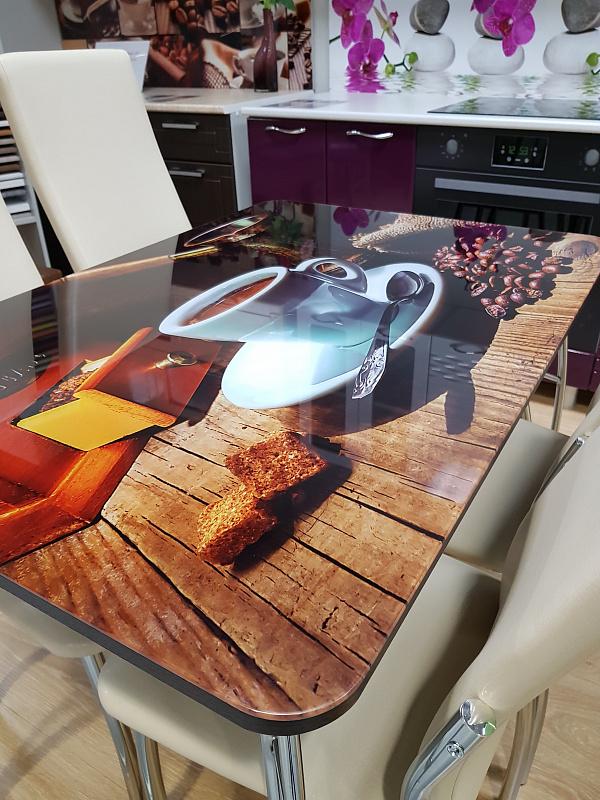 батова варианты фотопечати на кухонные столы делать, если